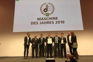Kverneland Group отримала премію «Машина року» на виставці Агрітехніка 2018